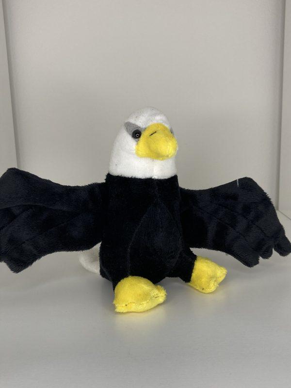 Orliak bielohlavý lietajúci 18cm Plyšové hračky 4