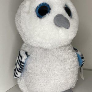 Sova snežná veľké oči 29cm