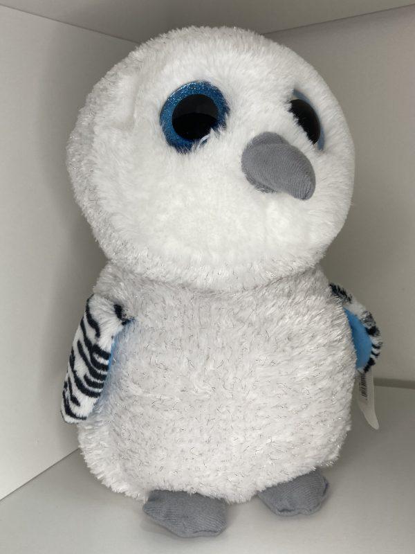 Sova snežná veľké oči 29cm Plyšové hračky 4